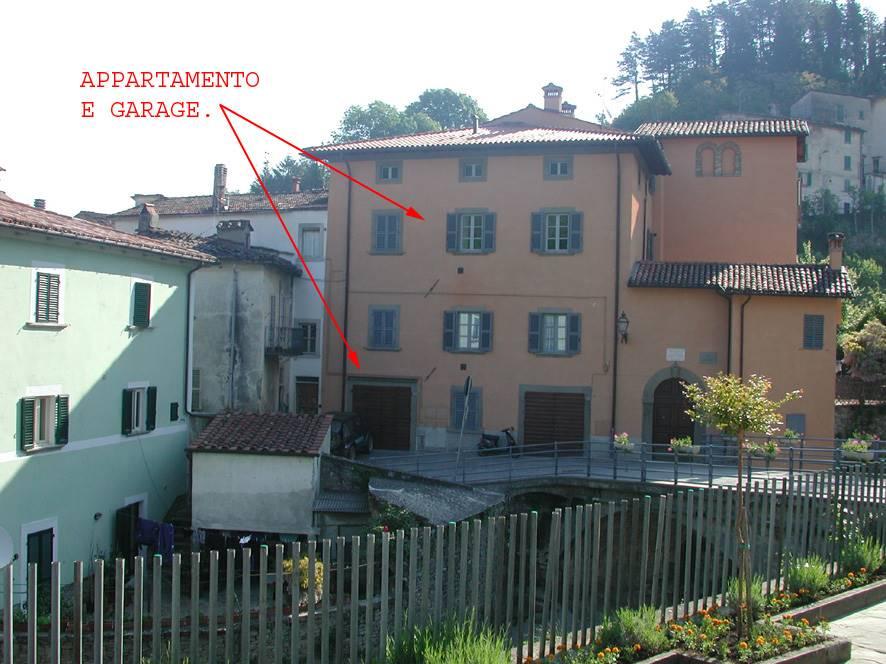 Nel centro storico di Marradi, in edificio recentemente ristrutturato, AFFITTASI, appartamento posto al secondo piano composto da: soggiorno, cucina,
