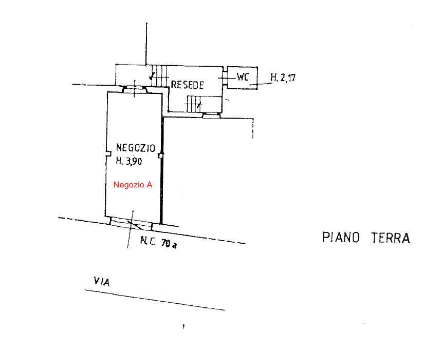 Planimetria Negizio A