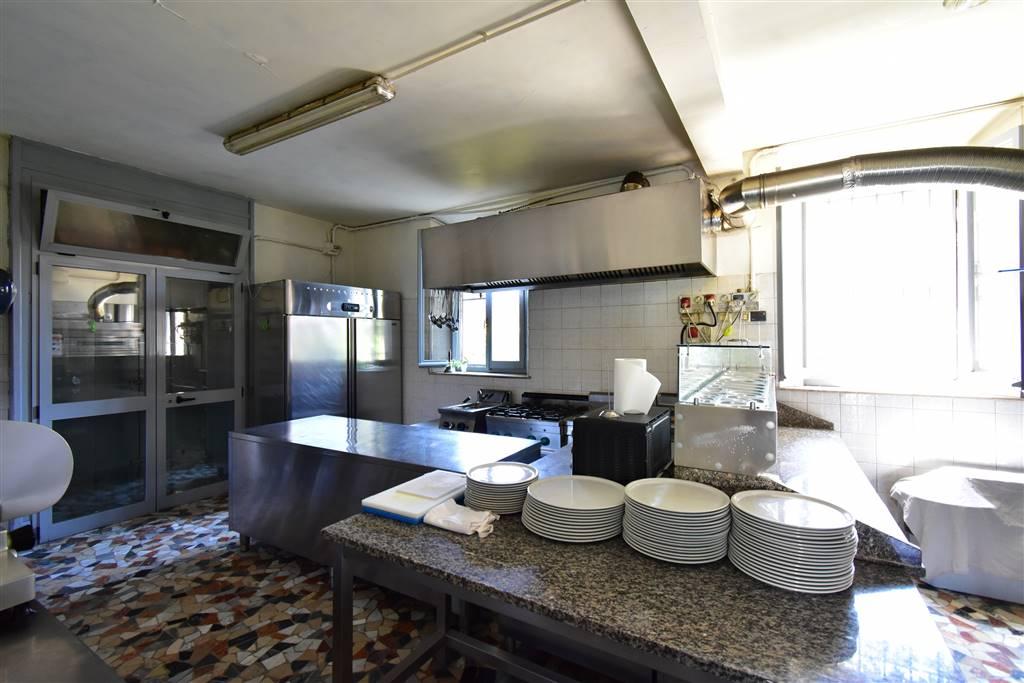 Cucina e angolo cottura pizze